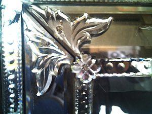 ヴェネツィアンガラス鏡