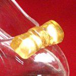 ガラスリボン(金箔入り)