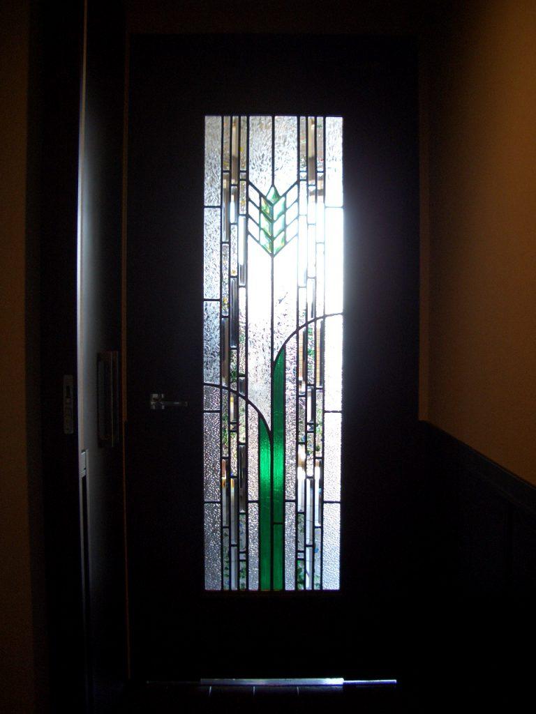麦穂のステンドグラス