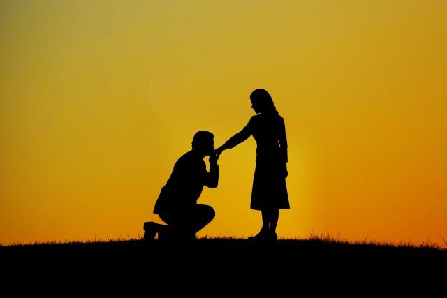 プロポーズはロマンチックに