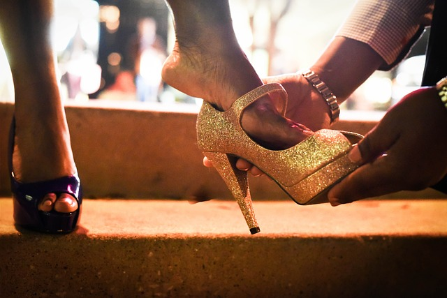 女性に靴を贈る意味